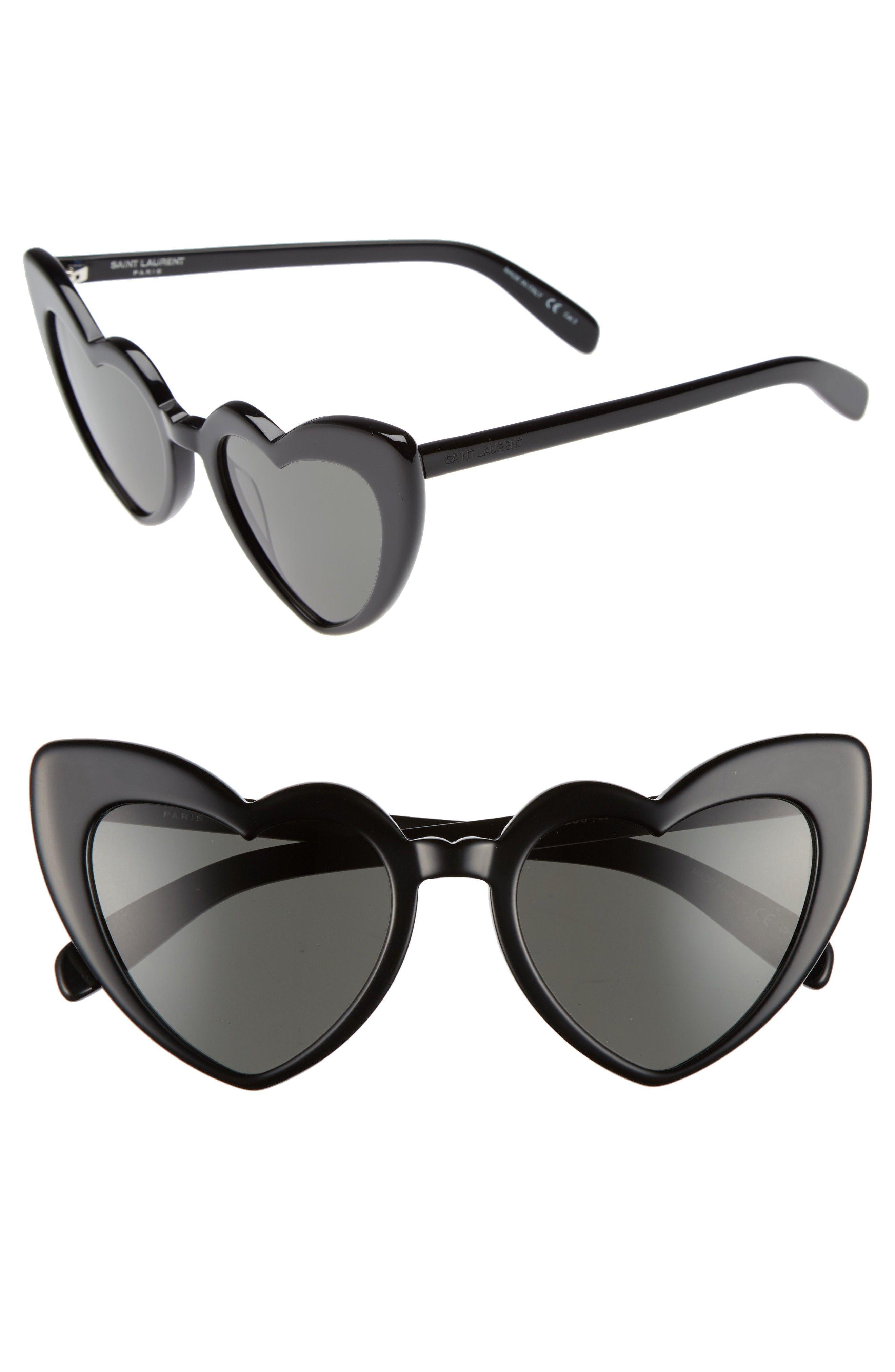 Loulou Heart Sunglasses, Saint Laurent #heartofgold...x