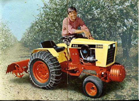 Case 444 Lawn Garden Tractor For the Home Pinterest