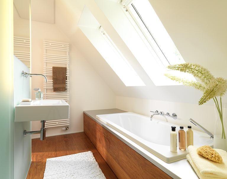 Badewanne Dachschräge räume mit dachschrä die besten wohntipps im bad wanne unter