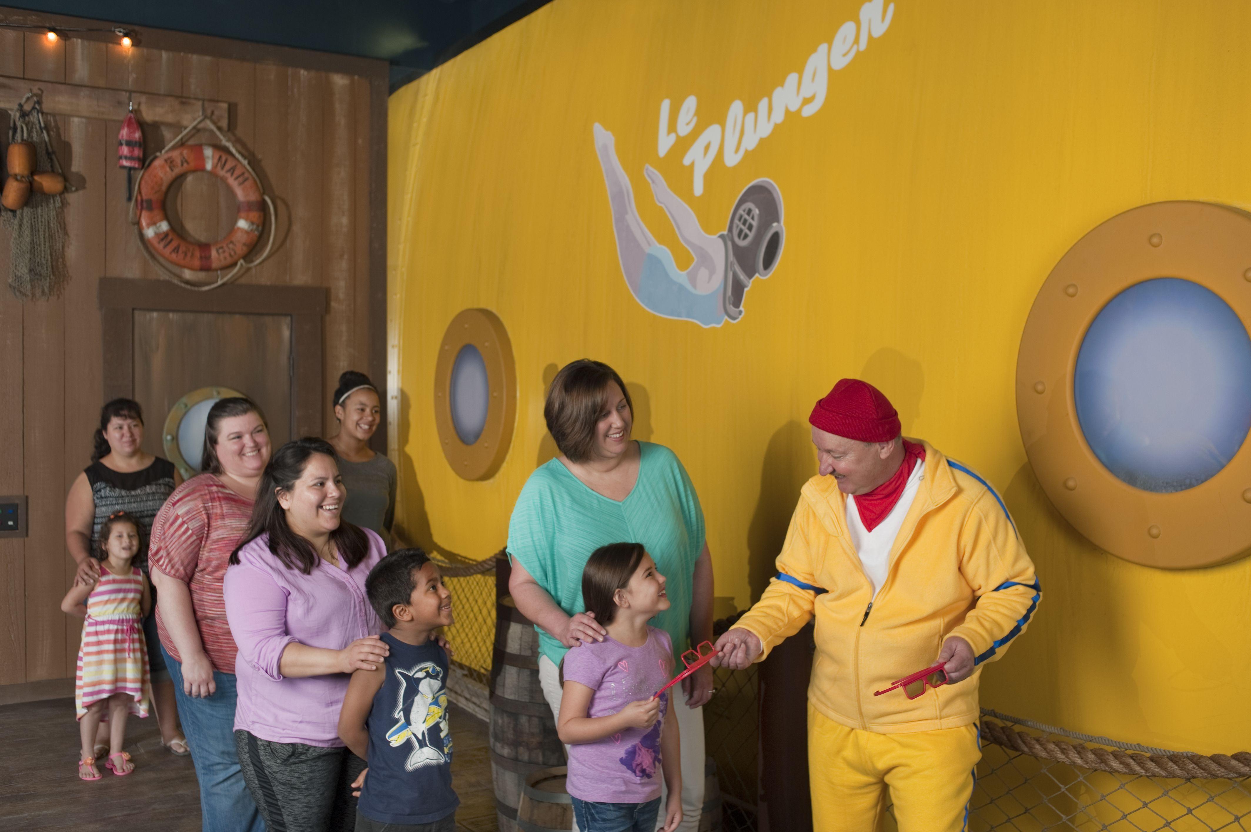 Spongebob Subpants Adventure At Moody Gardens Galveston With