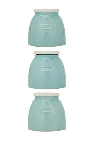 Buy Teal Love Storage Jars Set Of 3 From The Next Uk Online Shop Enchanting Kitchen Jar Set 2018