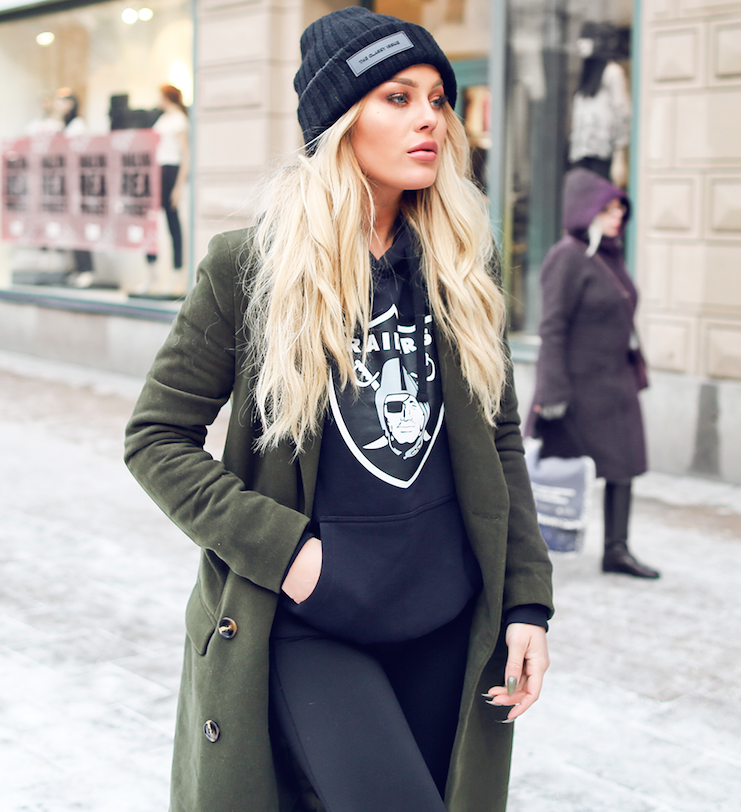 Angelica Blick Wearing The Classy Issue Hat Theclassyshop Com