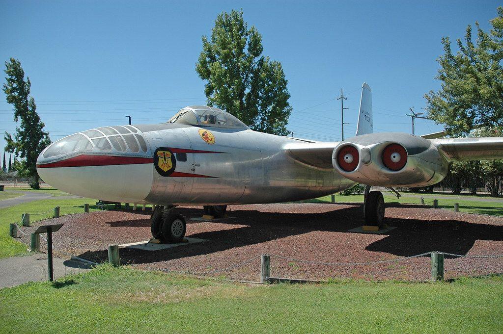 North American B45 Tornado at the Castle Air Museum