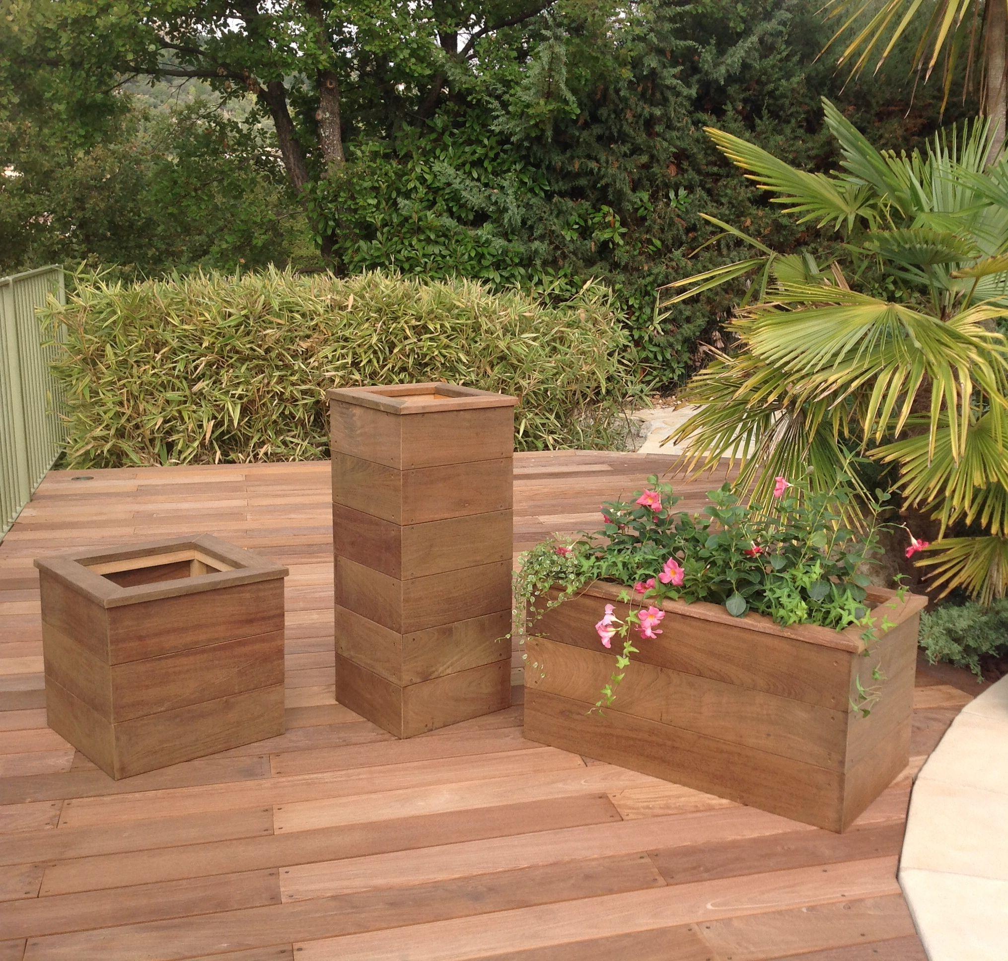 jardini re herbes aromatiques potager douglas bois. Black Bedroom Furniture Sets. Home Design Ideas