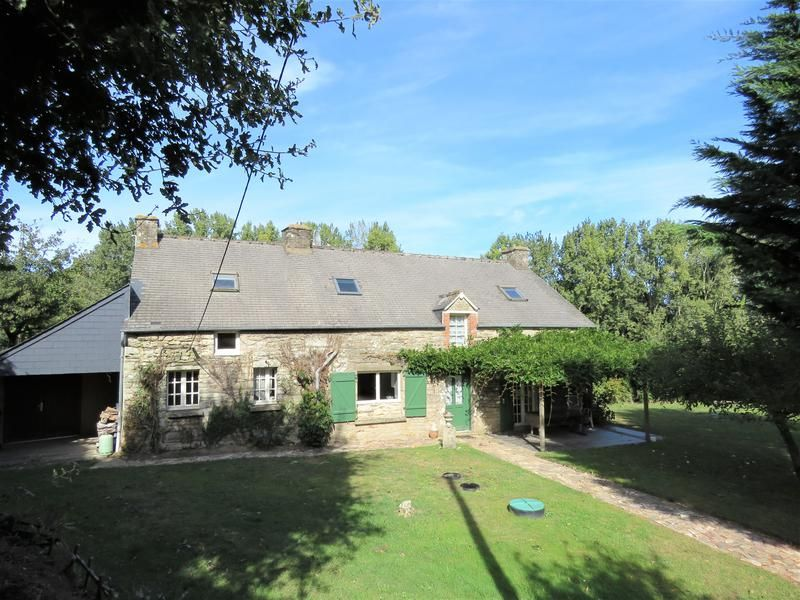 House For Sale In Malansac Morbihan 2km From The Popular Town Of Malansac Supermarket And Local Services This French Property Stone Cottage House Styles