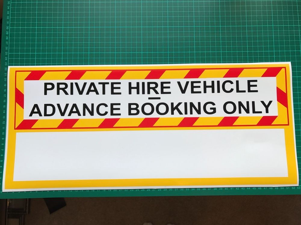 Details about Taxi Private SIGN Rank Uber Cab