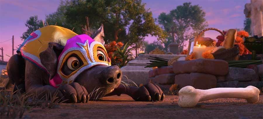 """Promo-Knochen für """"Coco"""": https://www.langweiledich.net/neuer-pixar-kurzfilm-dantes-lunch/ #pixar"""
