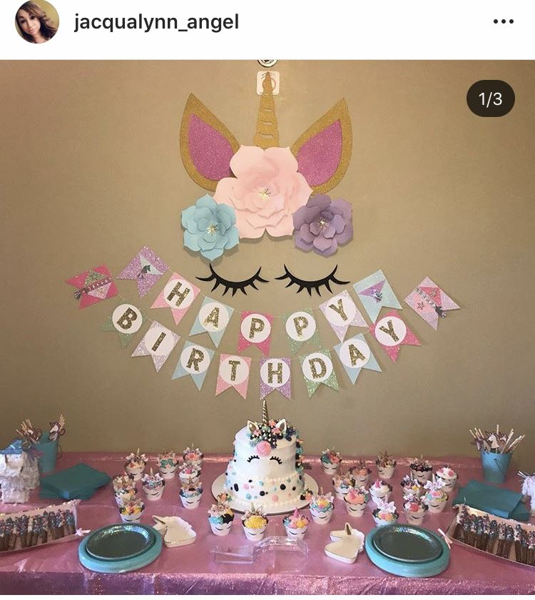 Pin by Jacqualynn Mayo on Unicorn Party Ideas in 2020