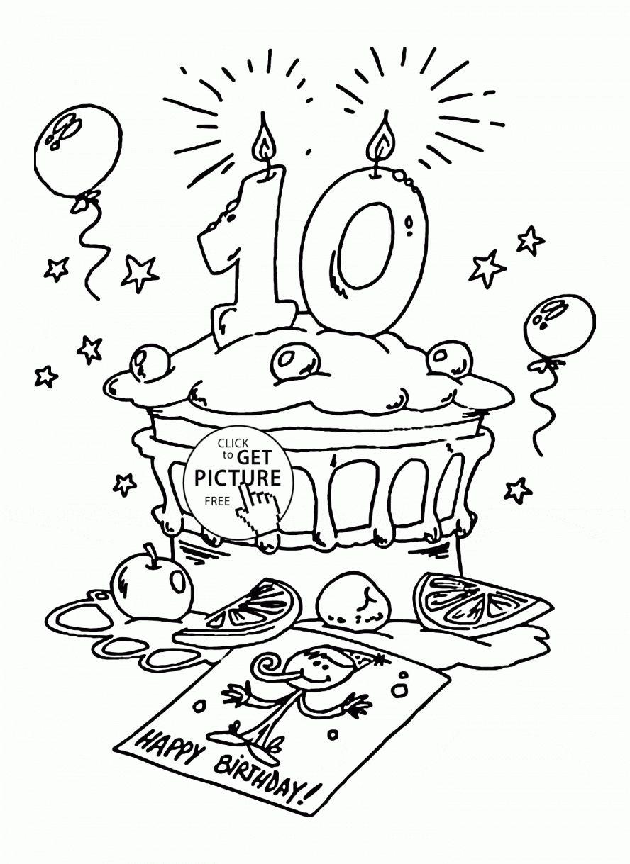 16+ Preschool Worksheet Number 10 Birthday - in 2020