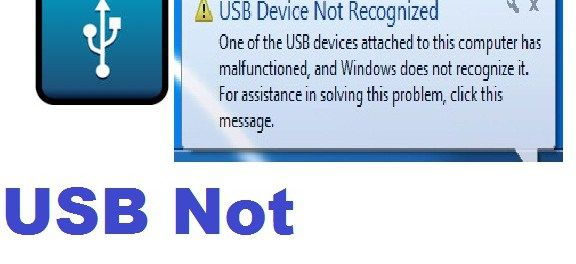 Fix USB Device Not Recognized-Windows|10/8/7 |SOLVED | How