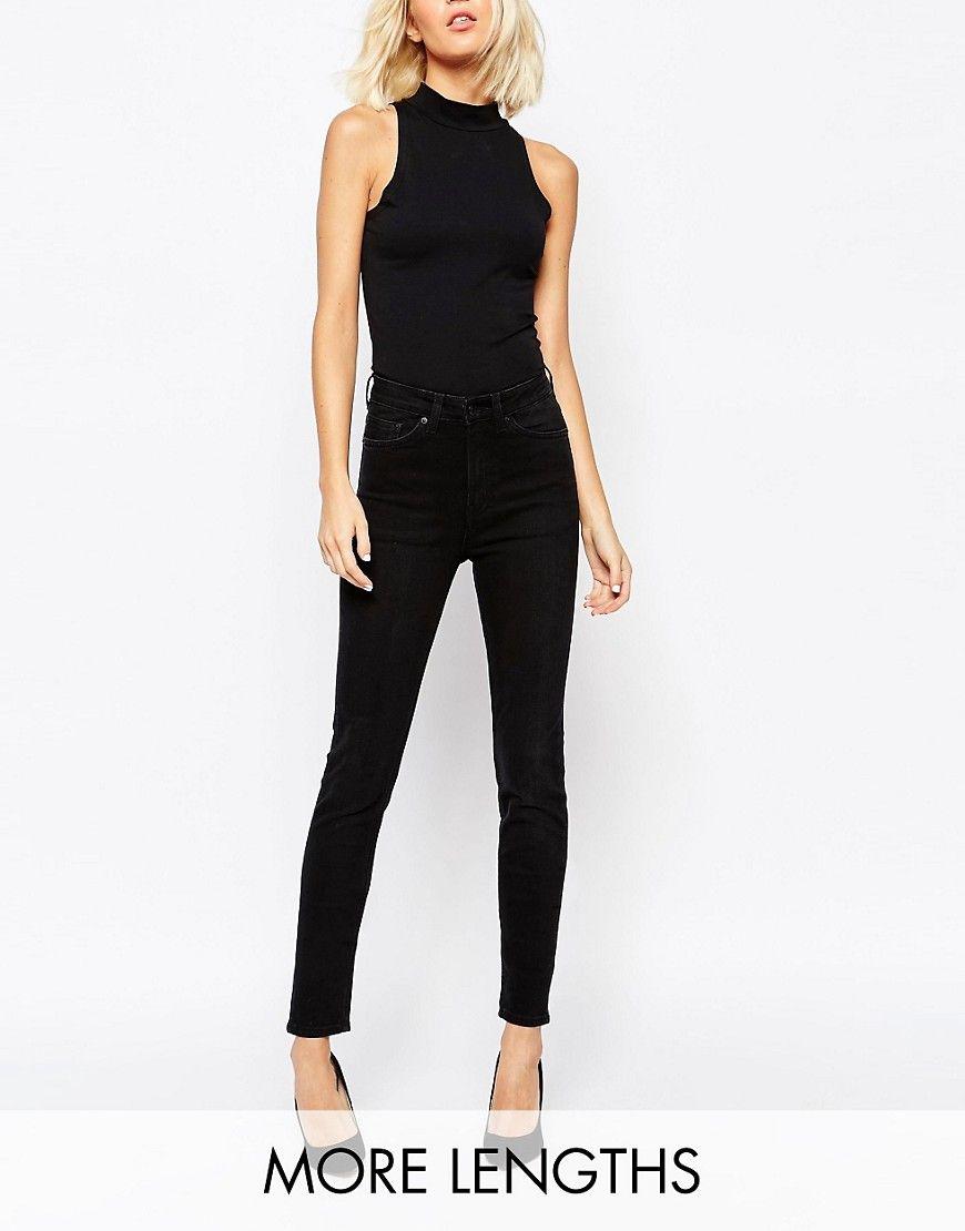 52363aebda6 Weekday+Thursday+High+Waist+Slim+Jeans