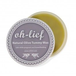 oh-lief Natural Olive Tummy Wax