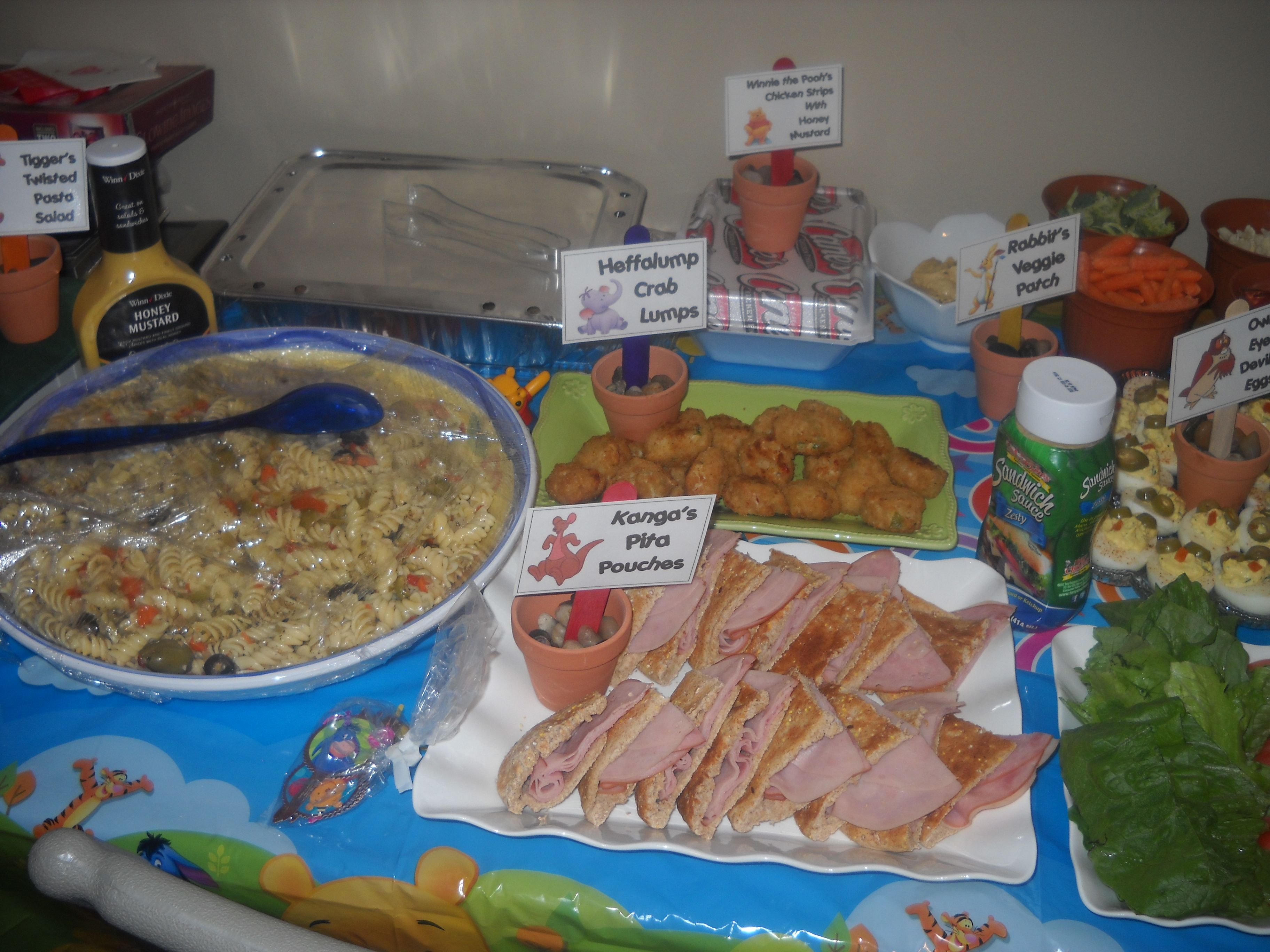 Winnie The Pooh Party Food I Made Dishes For Every Wtp Character