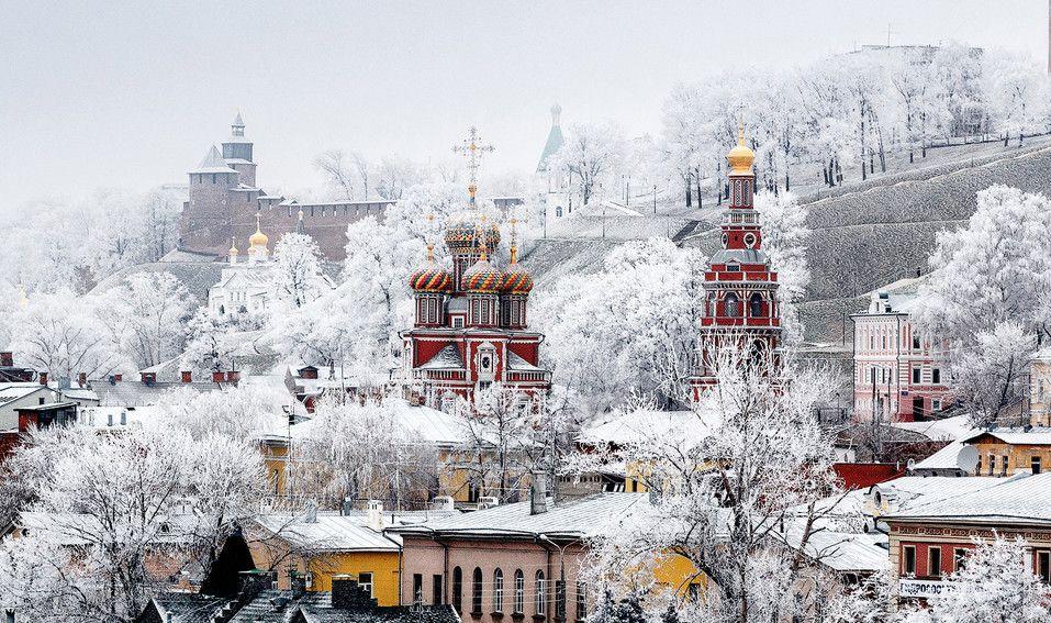 Joyeux Noël! 30 paysages d'hiver et 30 citations pour l'âme russe - photos