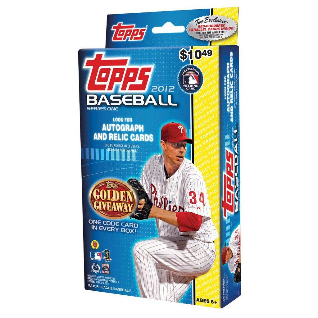 2012 topps mlb series 1 hangar box 72 cards baseball
