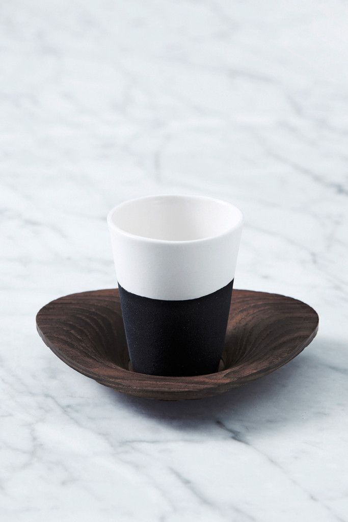 Espresso Cup And Saucer Set Double Shot