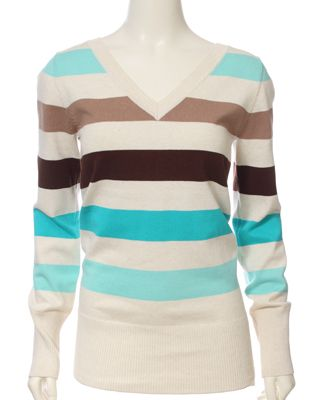 Not one for stripes much but I must say I like the color combo