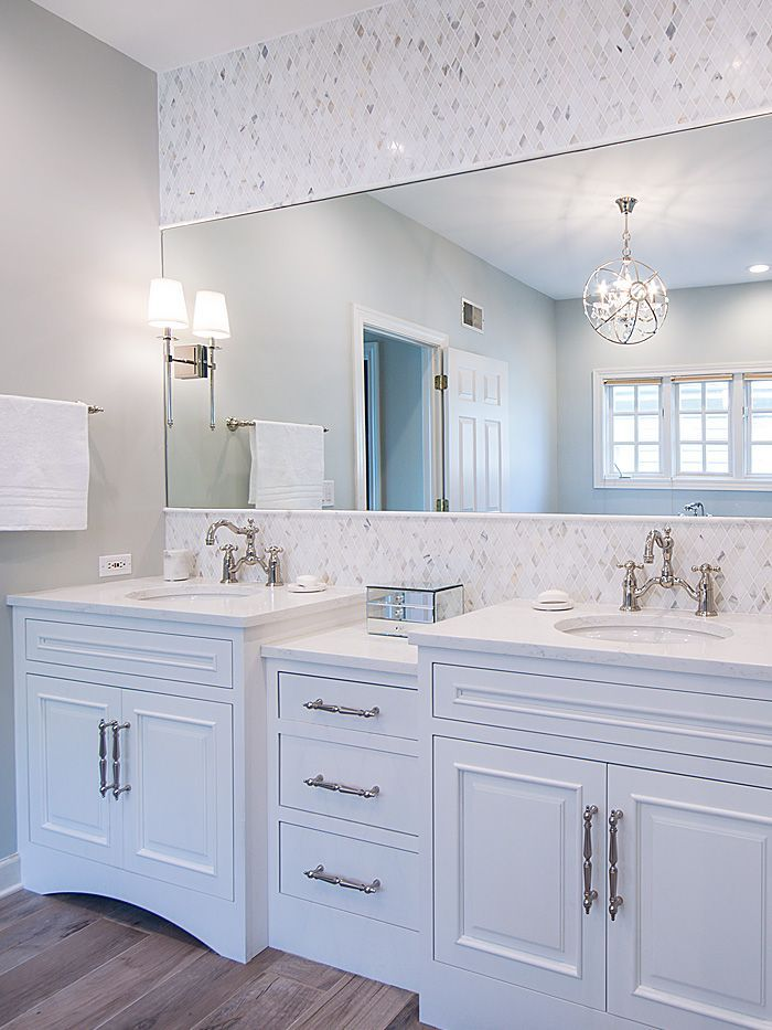 Merveilleux Our Latest Work, A Luxury Master Bath Remodel That Features Both Classic  And Contemporary Styles. Thrive Design Group Of Arlington Heights, Illinoiu2026
