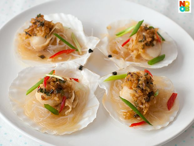Scallop recipes asian style