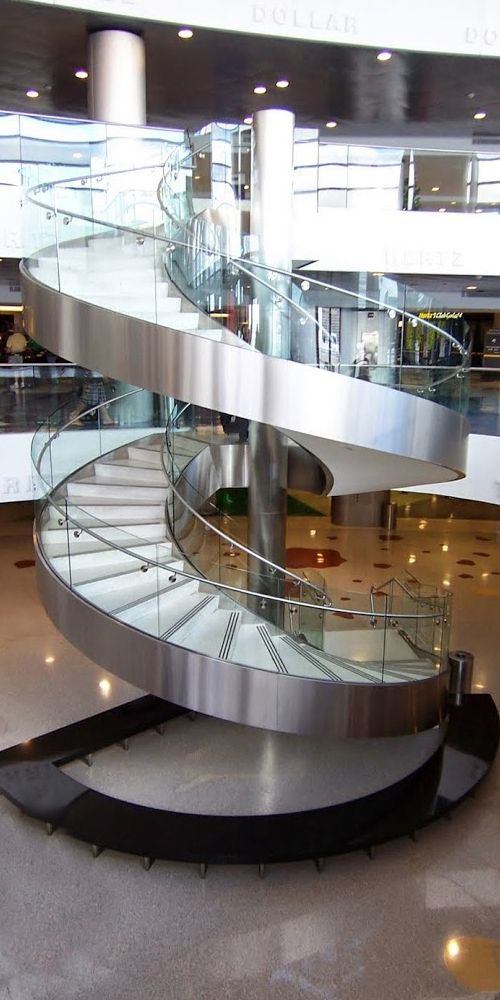 Best Our Curved Stainless Steel Rail And Glass Railing Make For 640 x 480