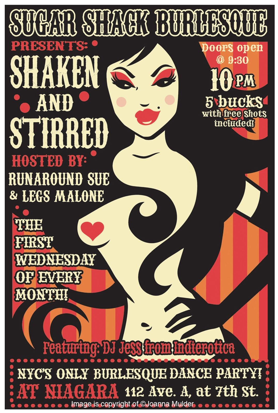 Poster design nyc - Burlesque Poster Design Nyc