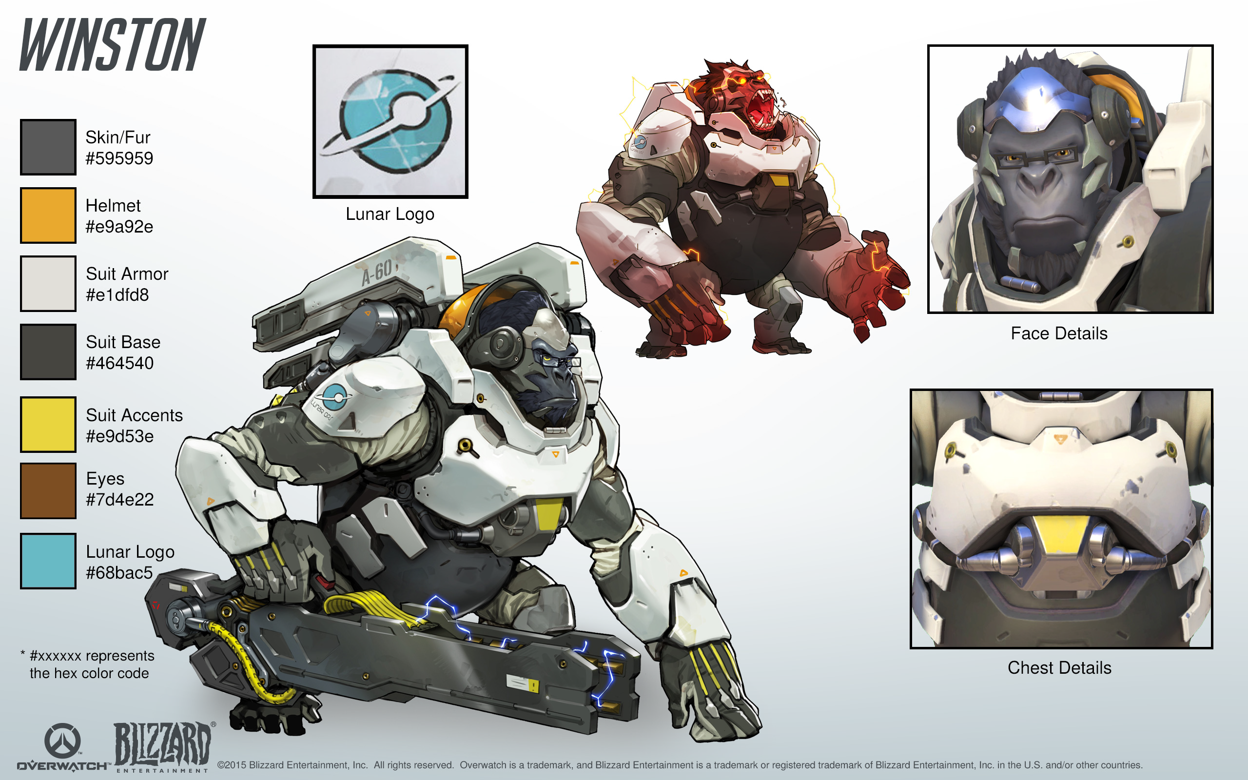 Image mei portrait png overwatch wiki fandom powered by wikia - Winston Cosplay Reference Guide 1 Overwatch