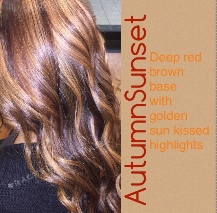 Red and blonde hair highlights lowlights autumn sunset red and blonde hair highlights lowlights autumn sunset pmusecretfo Gallery