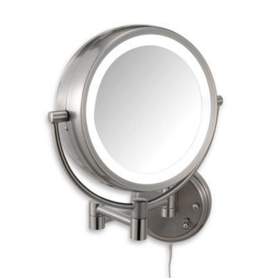 Conair Fluorescent 7x 1x Wall Mirror Bedbathandbeyond Com