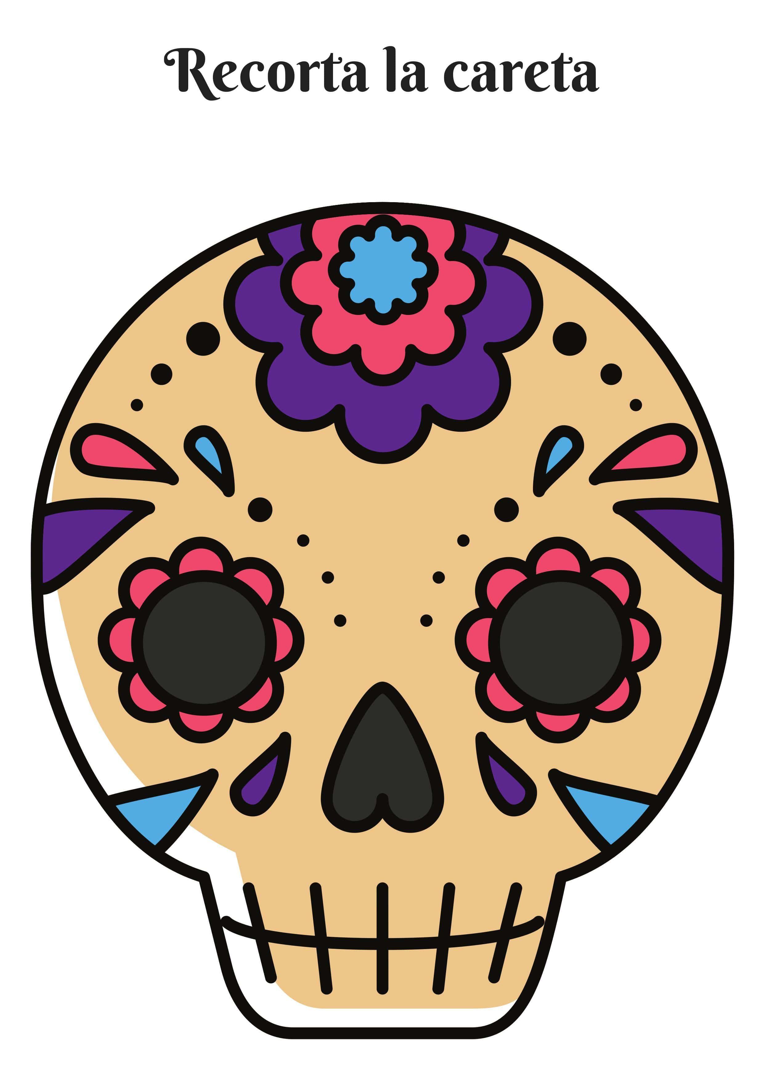 Mascaras Halloween Para Imprimir Fichas Para Ninos Mascaras