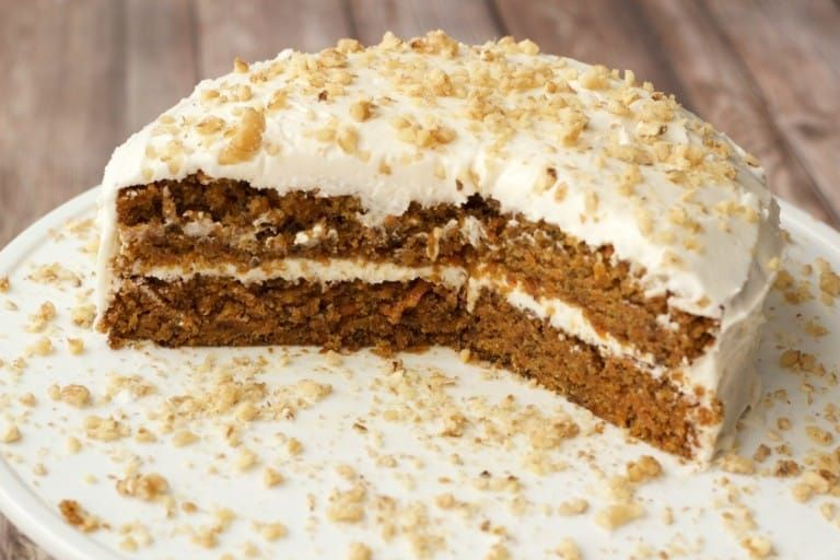Moist, rich vegan carrot cake with a wholesome flavor and gorgeous color. Topped with lemon buttercream frosting and crushed walnuts. #vegan #dairyfree | lovingitvegan.com #lemonbuttercream Moist, rich vegan carrot cake with a wholesome flavor and gorgeous color. Topped with lemon buttercream frosting and crushed walnuts. #vegan #dairyfree | lovingitvegan.com #lemonbuttercream Moist, rich vegan carrot cake with a wholesome flavor and gorgeous color. Topped with lemon buttercream frosting and cru #lemonbuttercream