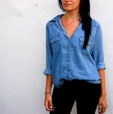 die 25 besten ideen zu jeanshemd damen auf pinterest leder umh ngetasche damen damen jeans. Black Bedroom Furniture Sets. Home Design Ideas
