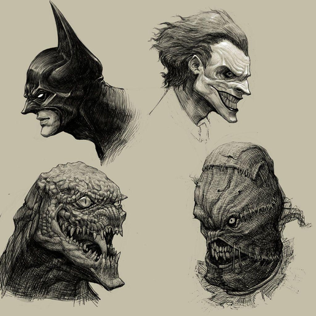 Batman, Joker + Villains ~ Batman Series Characters