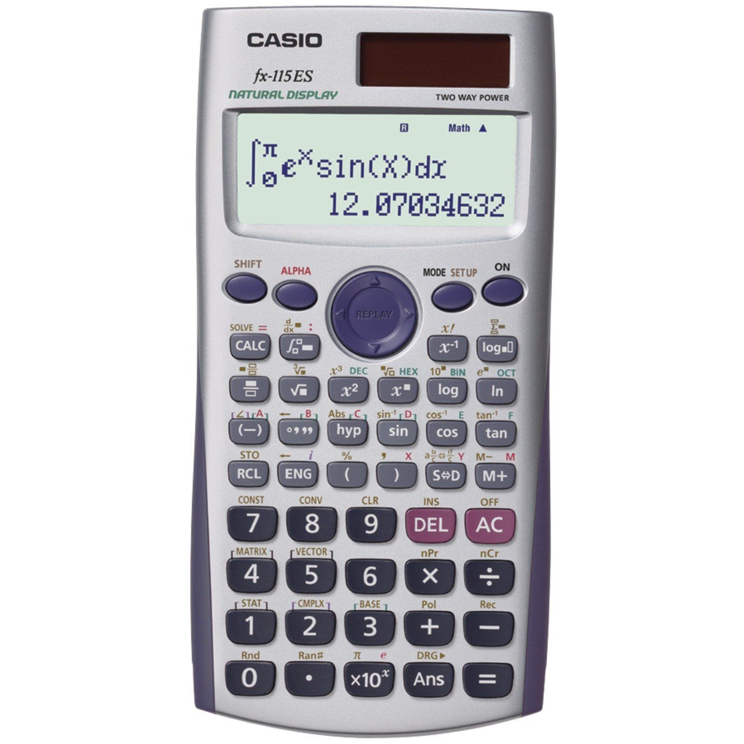 Definite Integral Calculator Casio Advanced Scientific Calculator With 2 Line Natural Textbook Display Scientific Calculators Calculator Graphing Calculator