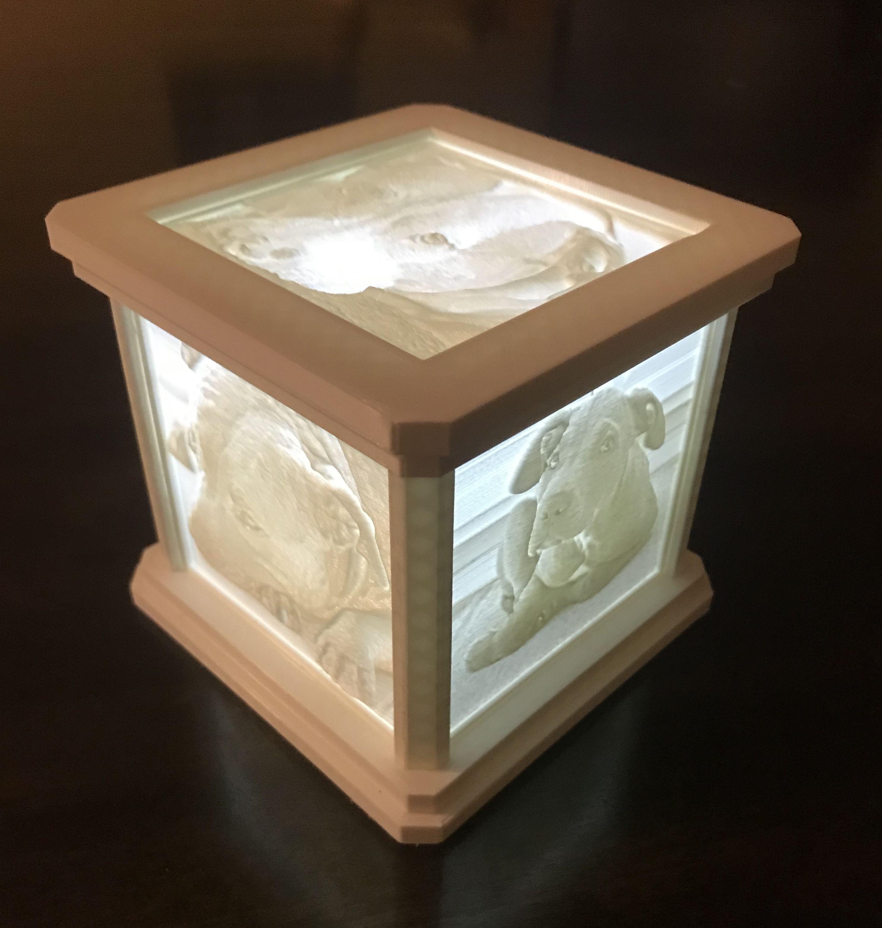 Pin On Lithophane Light Box