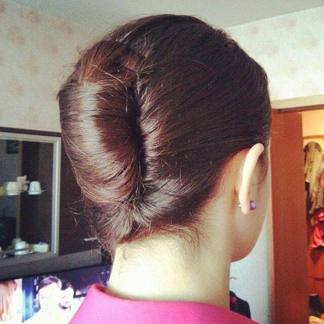 Wizzair Stewardess Hair Style Geibriala Frisuren Fasching