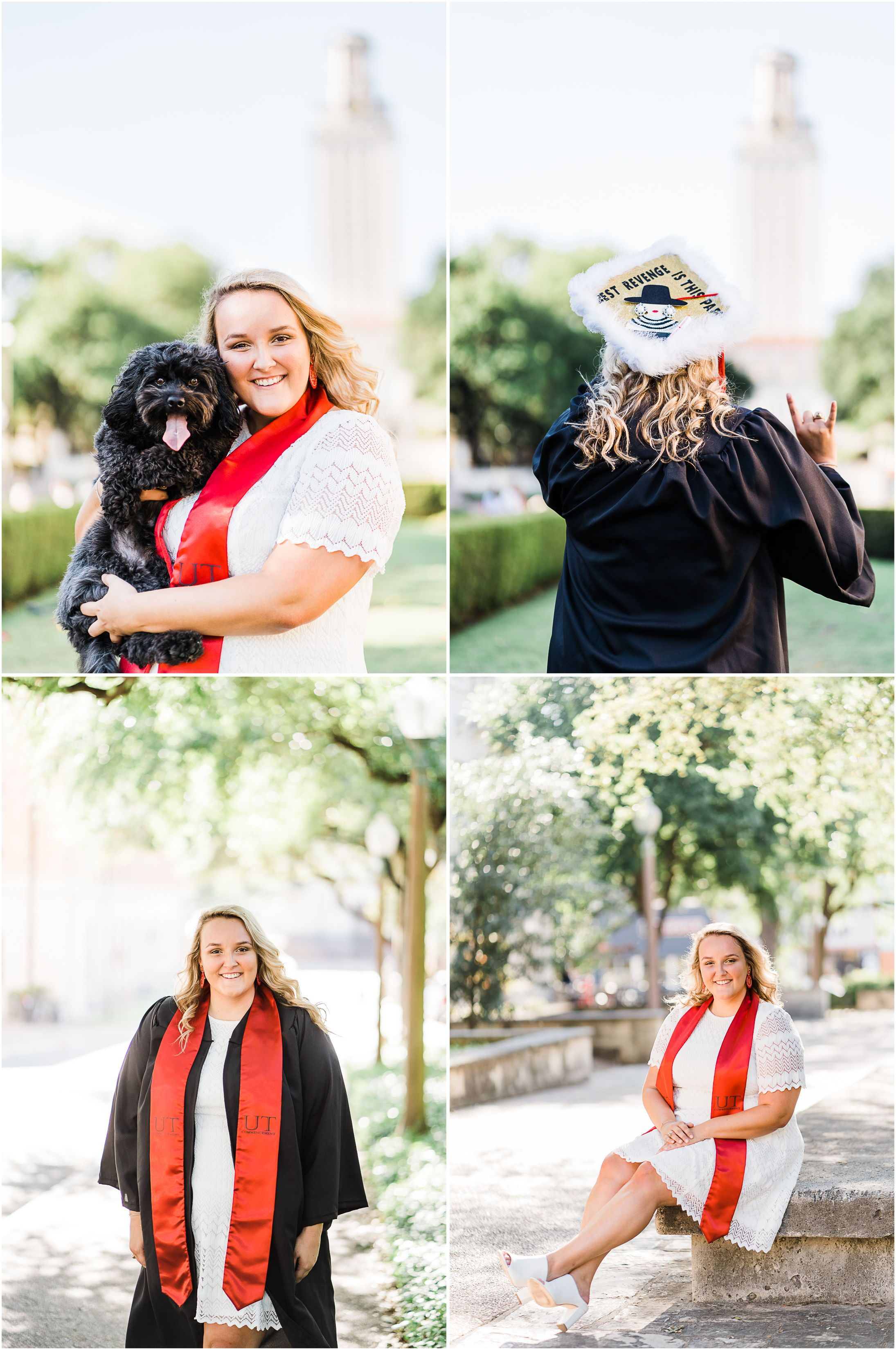 UT Austin graduation photos portraits Locations UT