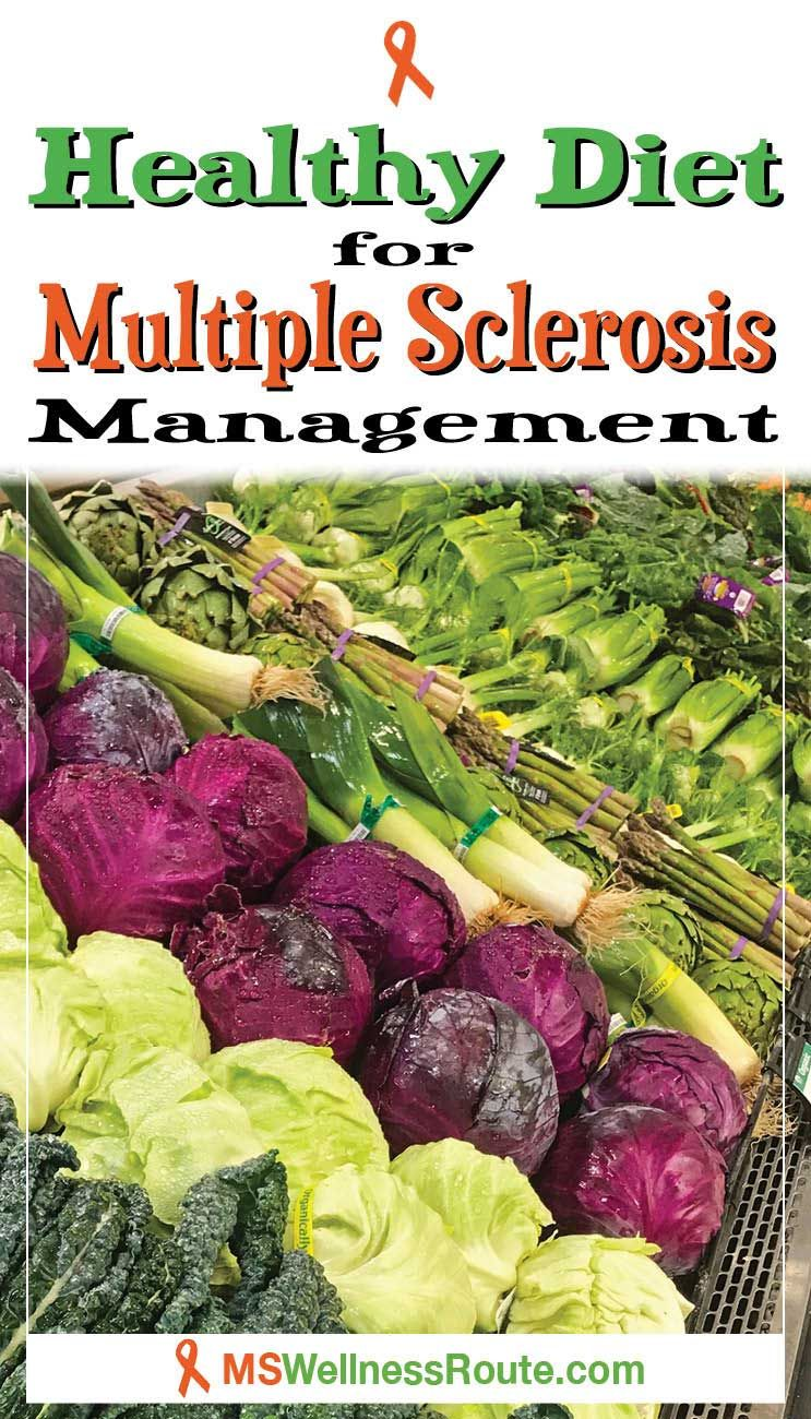 Healthy Diet for Multiple Sclerosis Management MS