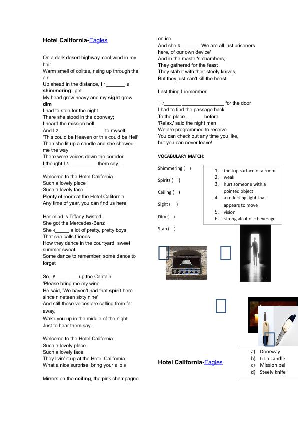 Busyteacher Org English Lessons Teaching Techniques Songs