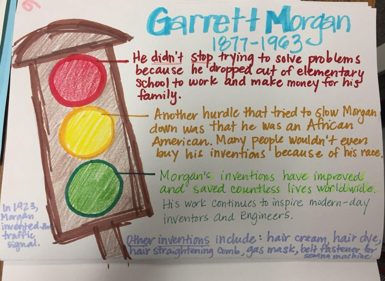 Garrett morgan inventor black history month activities pre k activities reading activities