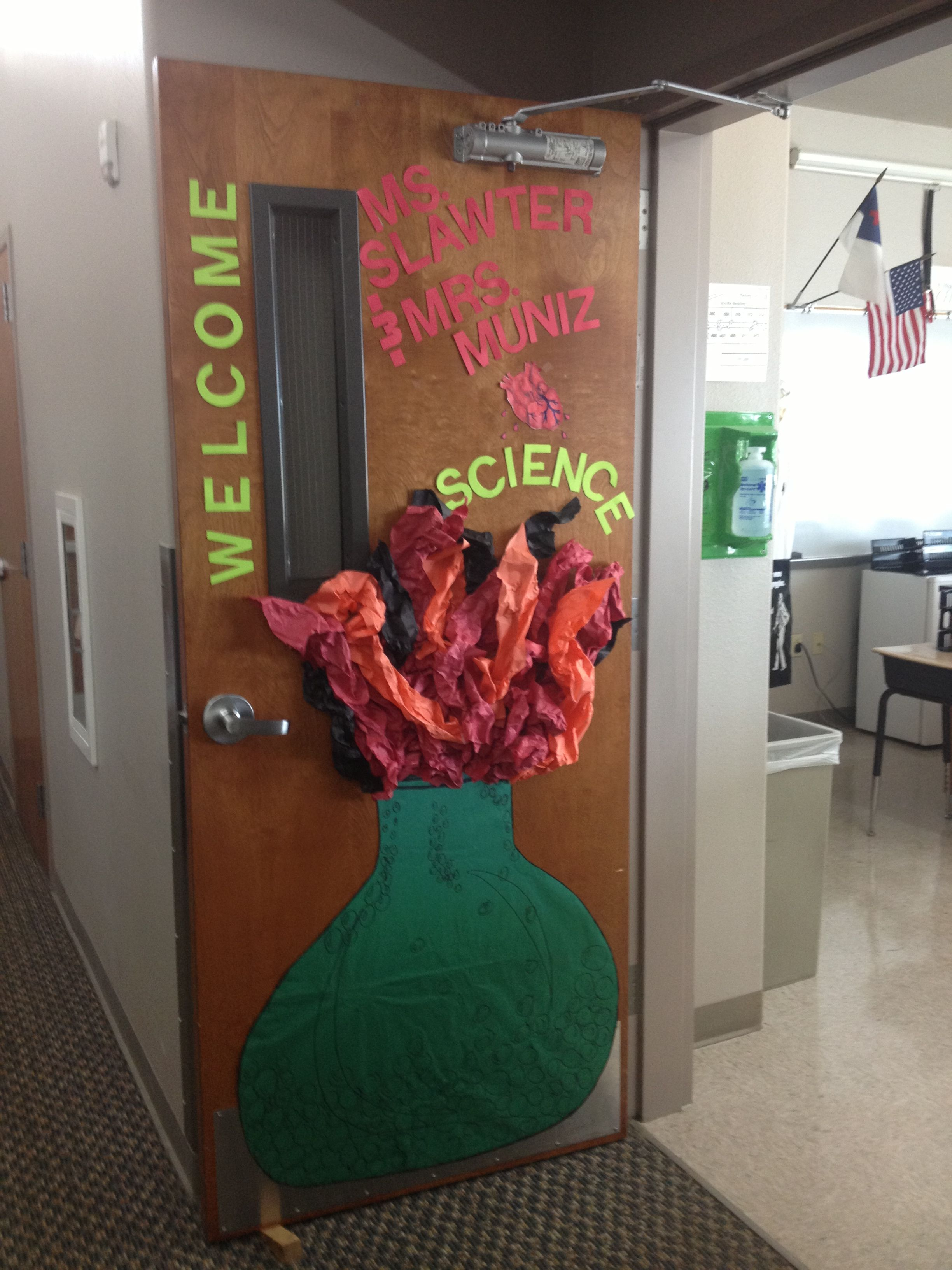 Science Class Door Decorations