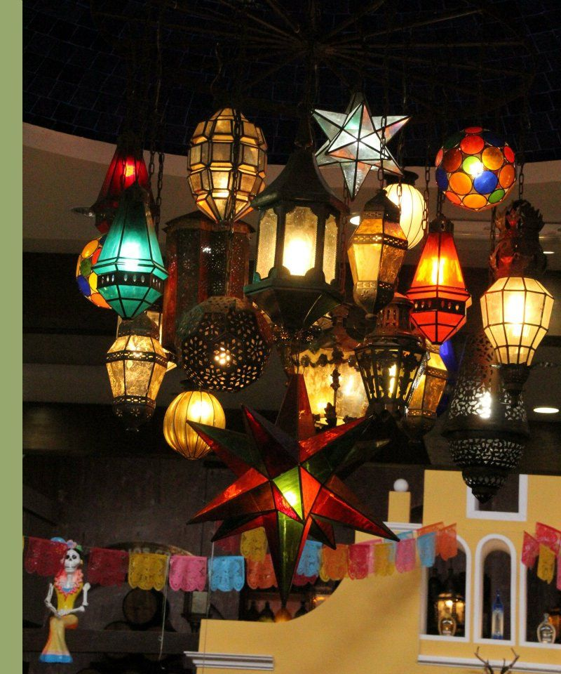 Lighting Fixture - Colors Of Mexico Cathy Donohoue