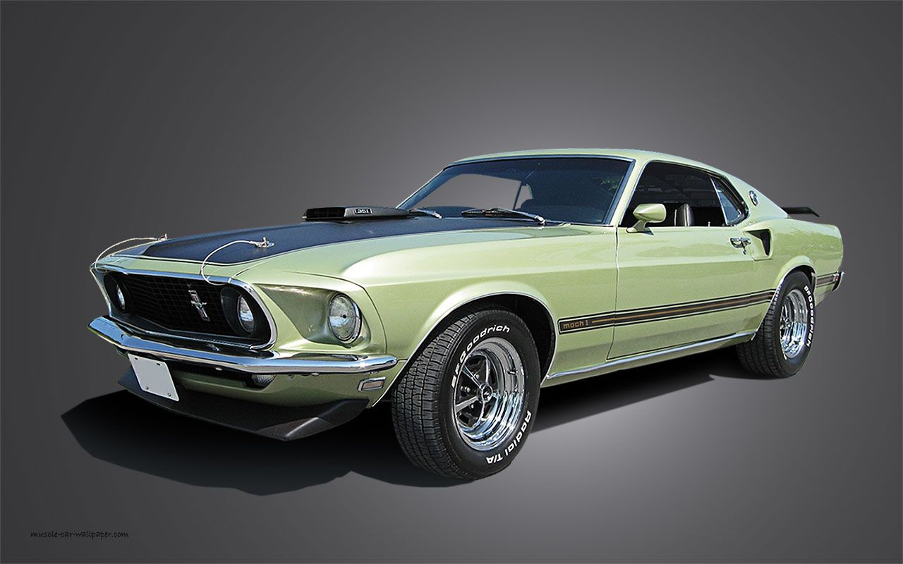 1969 Light Green Mach 1 Mustang Mustang Mach 1 Ford Mustang