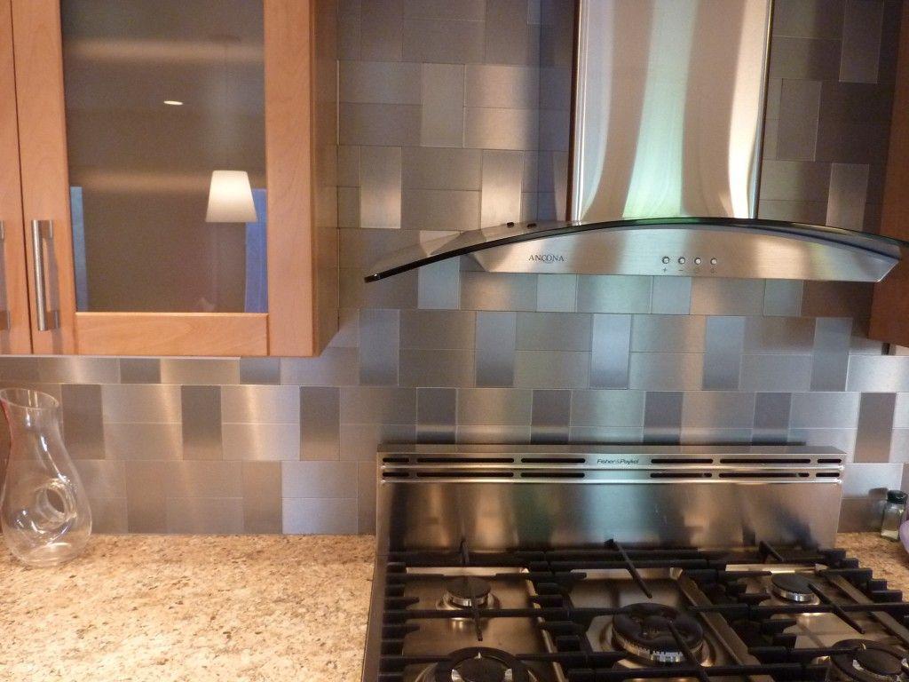 Self Adhesive Stainless Backsplash Tiles Gabinetes De Cocina De