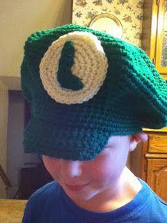 3c25212a30a Free  Crochet Pattern  Super Mario and Luigi Hat Pattern