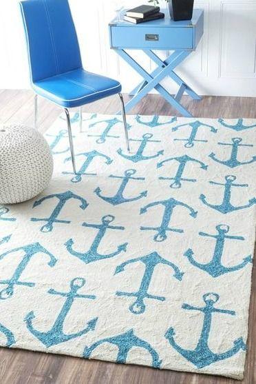 Coastal Decor Sales Nautical Area Rugs Nautical Rugs Handmade