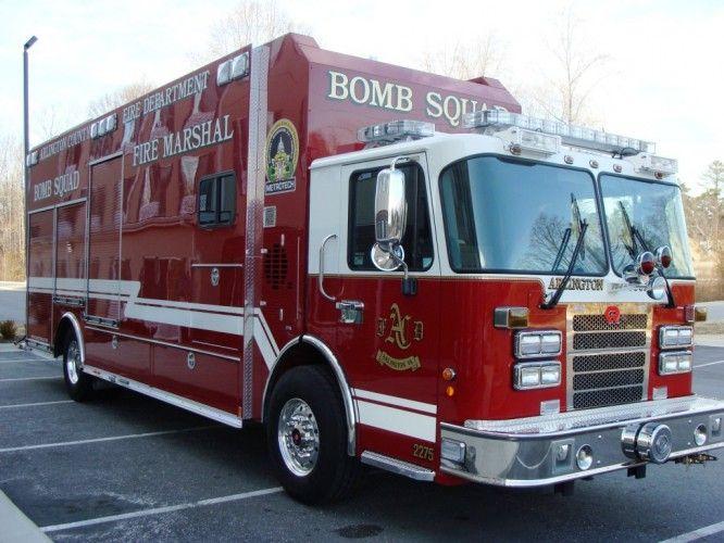 Arlington Fire Journal Bomb Squad Fire Trucks Emergency Fire Fire Rescue