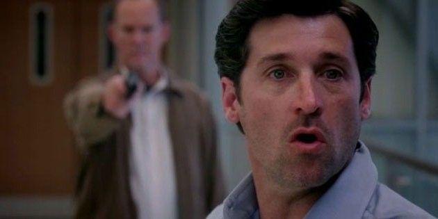 Derek Shepherd - Grey's Anatomy Season 6 finale | Greys anatomy couples, Greys anatomy shooting, Greys anatomy
