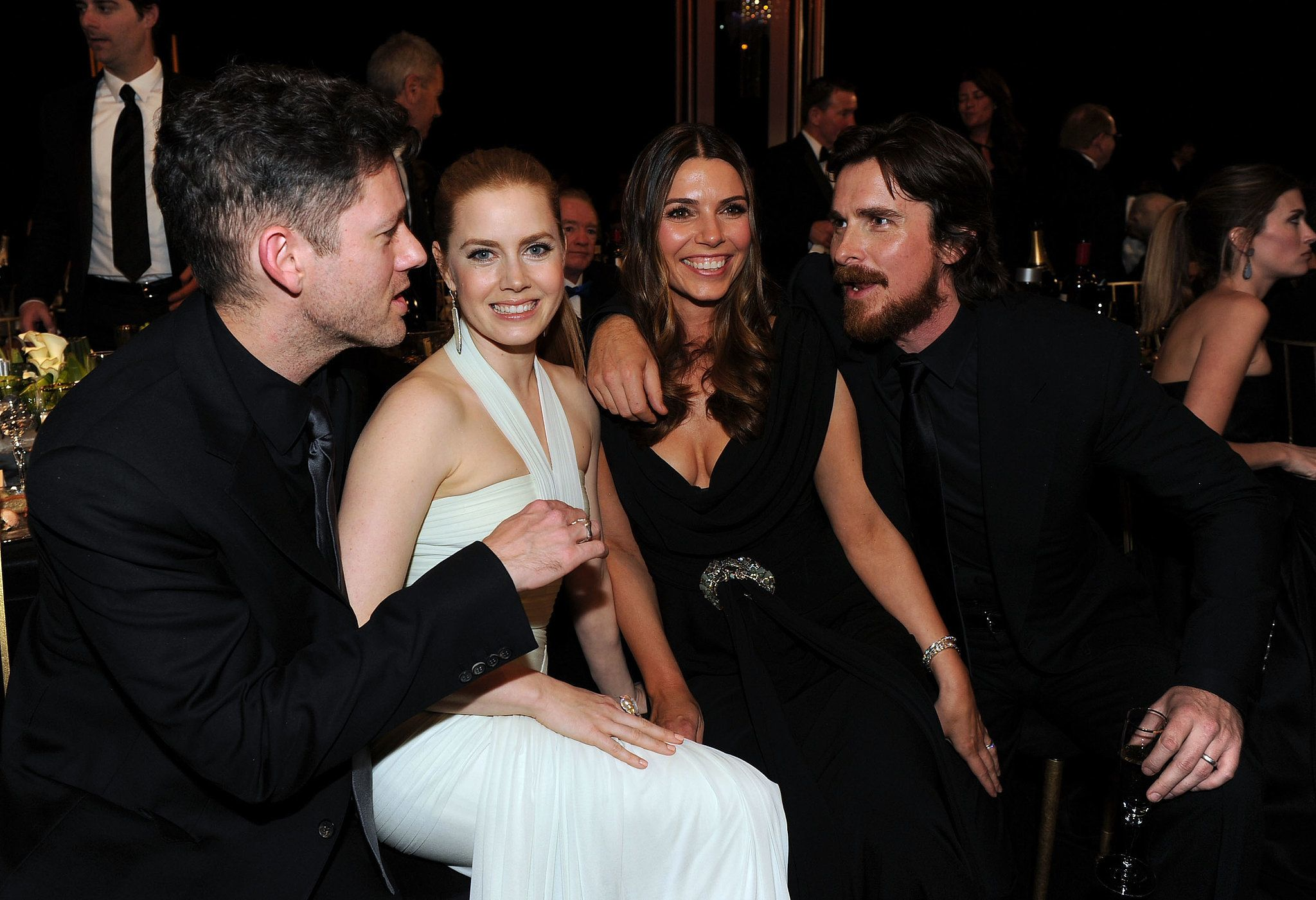 Back in 2011 the pair chatted up amy s american hustle costar christian bale and his