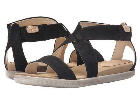 1cb771cb5b2c ECCO Damara Strap Sandal Black - Zappos.com Free Shipping BOTH Ways ...