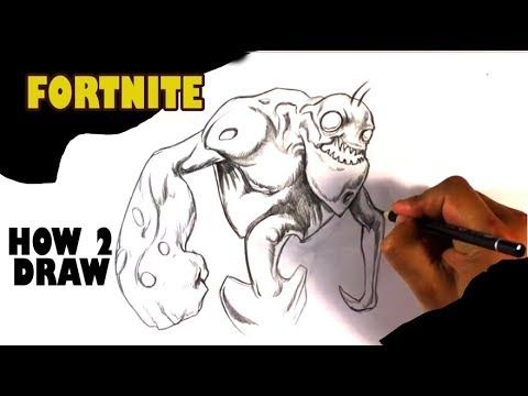 How to draw fortnite flinger this is a video about a how to draw a
